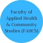 Faculty of Applied Health & Community Studies (FAHCS)