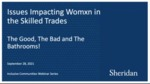 Issues Impacting Women in the Skilled Trades by Alicia Sullivan, Mary Grey, Carly Myers, Shannon Fair, and Dove Smith