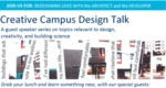Creative Campus Design Talk: Redesigning Lives