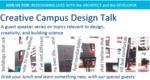 Creative Campus Design Talk: Redesigning Lives by Emma Cubitt, Graham Cubitt, Bethany Osborne, and Shannon Pirie