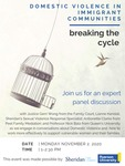 Domestic Violence in Immigrant Communities: Breaking the Cycle