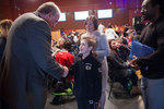 Ken Dryden meets a young fan