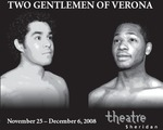 Two Gentlemen of Verona, November 25 – December 6, 2008