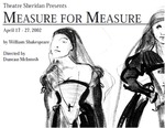 Measure for Measure, April 17 – 27, 2002