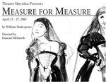 Measure for Measure, April 17 – 27, 2002