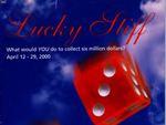 Lucky Stiff, April 12 – 29, 2000