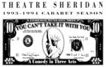 You Can't Take It with You, April 7 – 23, 1994 by Theatre Sheridan