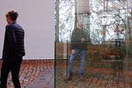 Selfie Reflection on Glass Box Installation, Louisiana Museum of Modern Art, Copenhagen