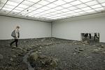 """Riverbed"" an Art/Landscape Installation by Olafur Eliasson at the Louisiana Museum of Modern Art, Copenhagen, Denmark (2014)"