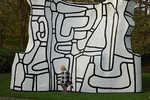 """Dynamic Manor"" by Jean Dubuffet, Louisiana Museum of Modern Art"