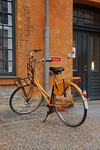 Orange Bicycle, Copenhagen, Denmark
