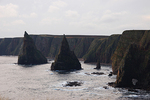 Water: The Stacks in the Pentland Firth off Duncansbyhead, Northern Scotland, 2014.