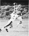 012 In the sack... Sheridan quarterback Dave Hall was under constant pressure as Bruins were trounced 59-7 by a brutal Seneca squad Sunday by Dave Dorken