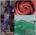 Collage - Clear Backing by NGI Designer Glass