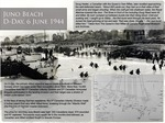 Juno Beach D-Day, 6 June 1944 by Rances Fonseca Cespedes, Keirsten Kandhai, Fiorelli Lagdamen, and Jocelynne Marcoux