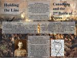 Holding the Line: Canadians and the 2nd Battle of Ypres by Salam Jabri, Anas Araksousi, Yusuf Asik, and Ashan Gill